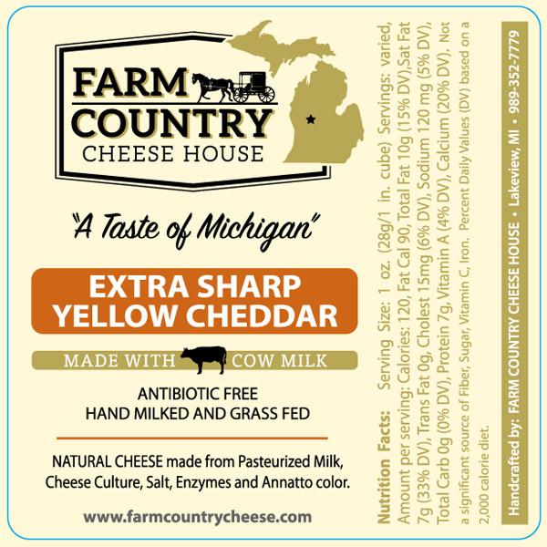 Extra Sharp Yellow Cheddar